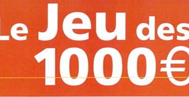 Le jeu des 1000 euros à Lewarde !