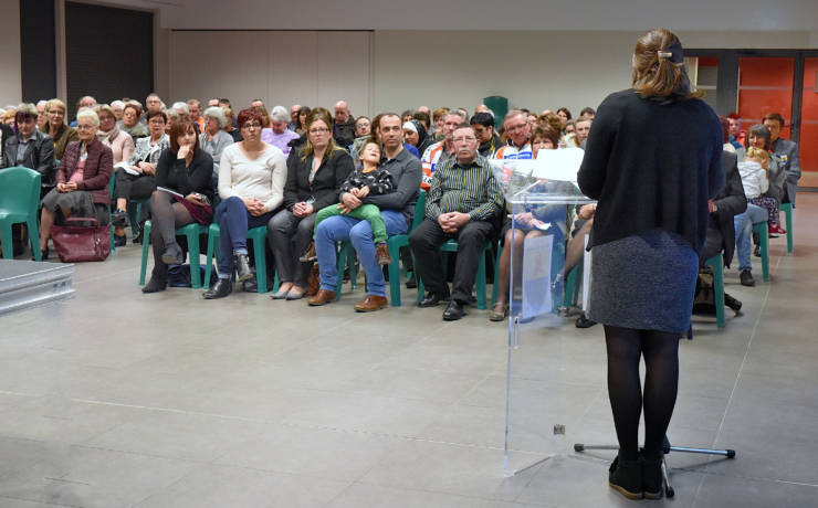 Réception des bénévoles associatifs