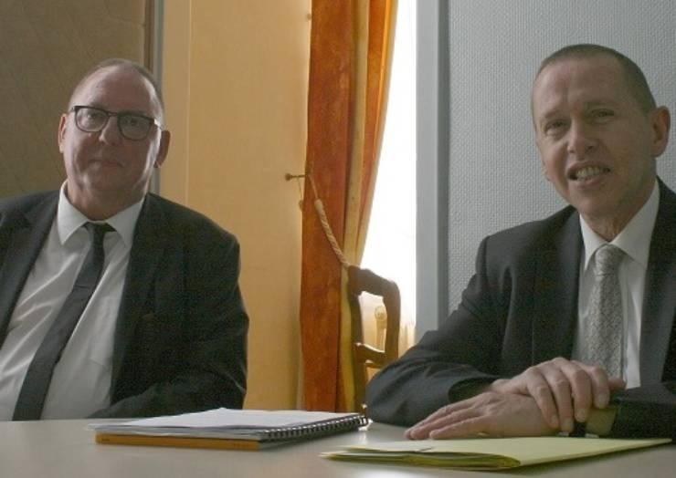 Mr Jacques DESTOUCHES, Sous-préfet de Douai en visite à Lewarde