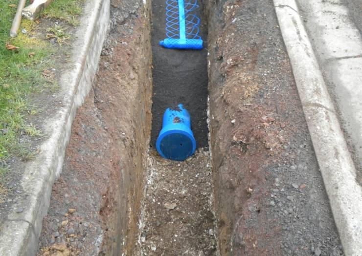 Modernisation du réseau d'eau