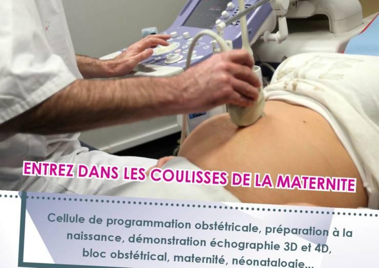 Journée portes ouvertes à la maternité de Douai