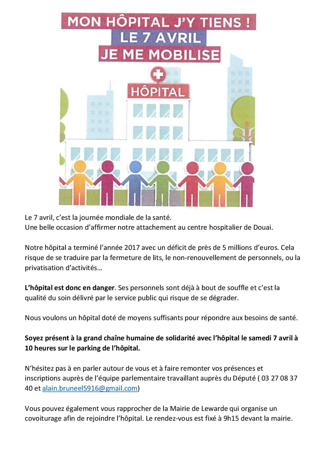 Défense de l'hôpital public