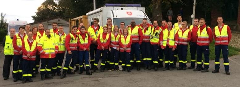 L'équipe des secouristes Lewardois sur tous les fronts !