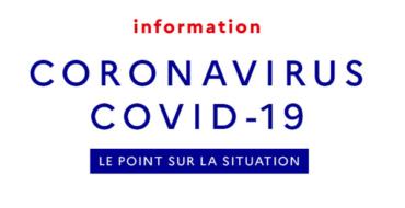 Point de situation – Coronavirus