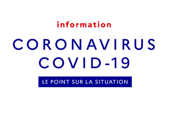 Coronavirus – point de situation