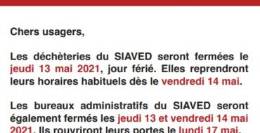 Informations du SIAVED
