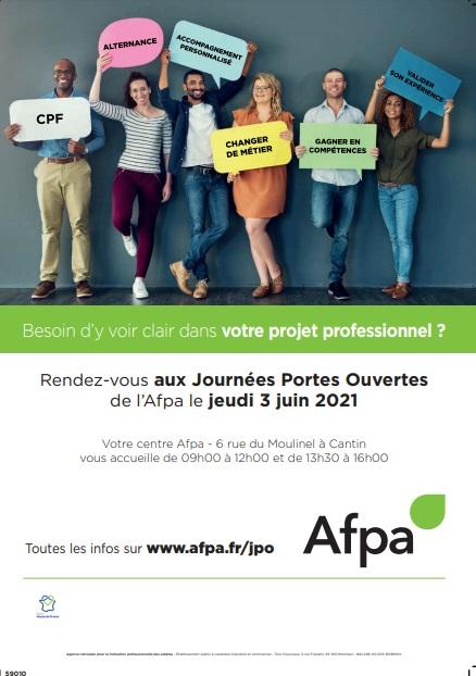 Portes ouvertes de l'AFPA