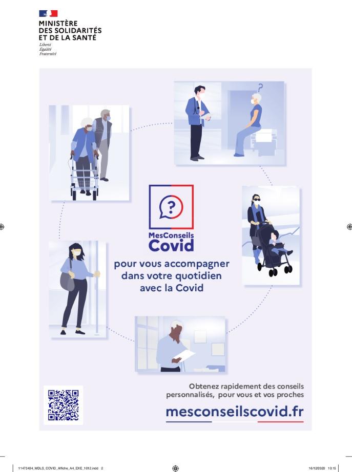 Mes conseils COVID santé