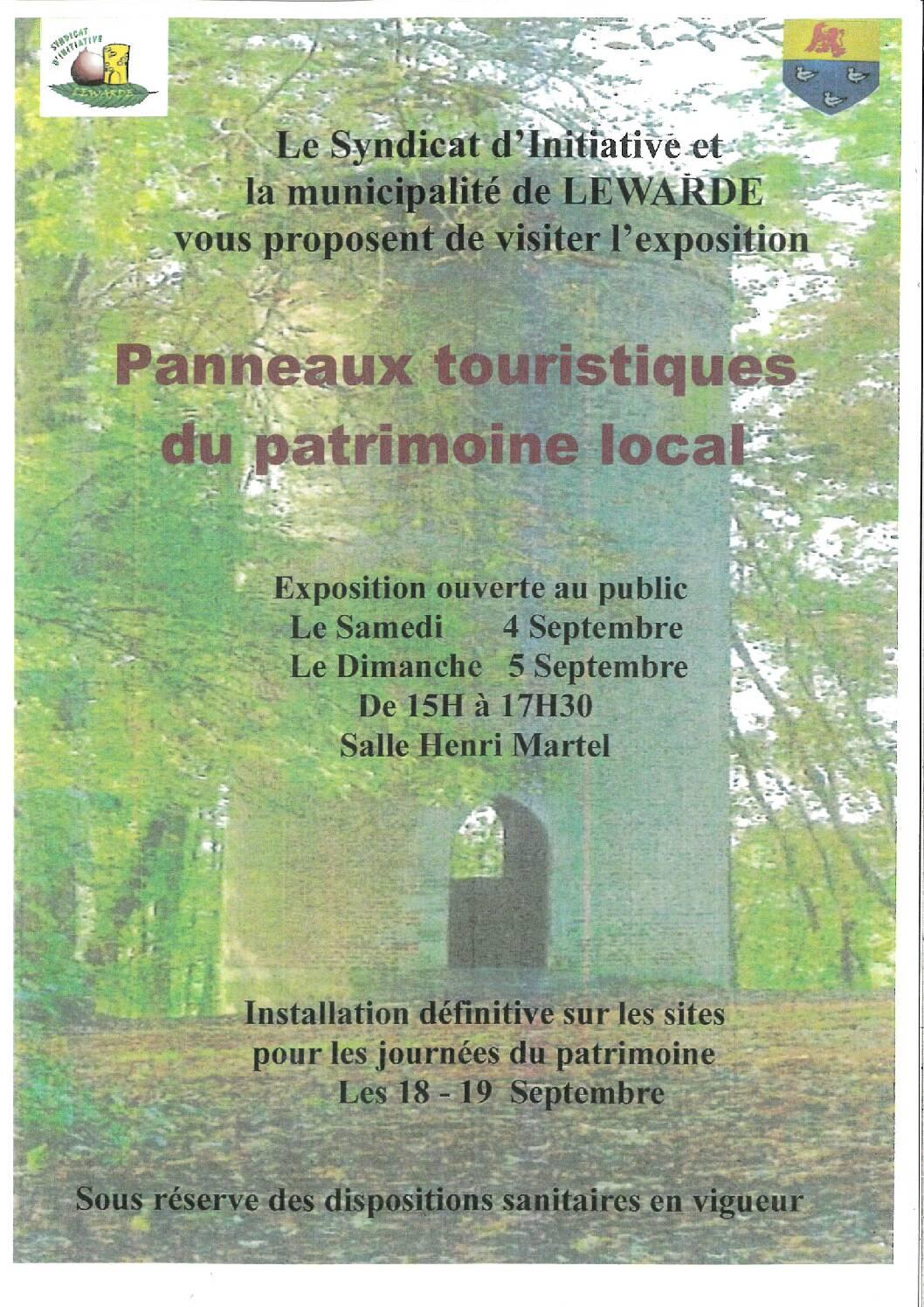 Panneaux Touristiques du Patrimoine Local