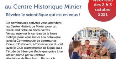 Fête de la science au Centre Historique Minier