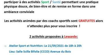 Activités sportives par la CCCO